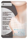 Masque Bio Cellulose Anti-Âge Hydratant Décolleté