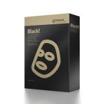 Masque au Charbon Noir Hydratant et aux Flacons d'Or (5pcs/box)