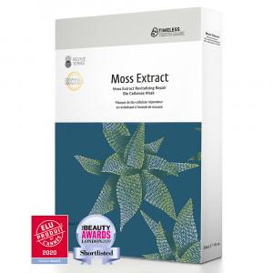 Masque de Bio-Cellulose Réparateur et Revitalisant à L'Extrait de Mousse (3pcs/box)