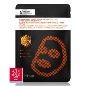 Masque Bio Cellulose Anti-Âge au Venin d'Abeille et Gelée Royale