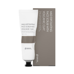 Mild Exfoliating Face Scrub with Volcanic Clay
