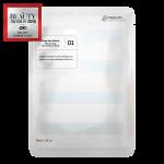 01 Masque Bio-Cellulose Hydratant aux Extraits d'Algues des Fonds Marins
