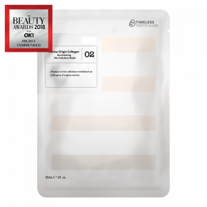 02 Masque Bio-Cellulose Revitalisant au Collagène d'Origine Marine