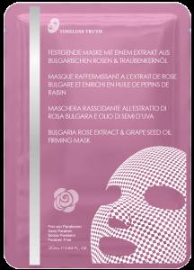 MASQUE RAFFERMISSANT A L'EXTRAIT DE ROSE BULGARE ET ENRICHI EN HUILE DE PEPINS DE RAISIN